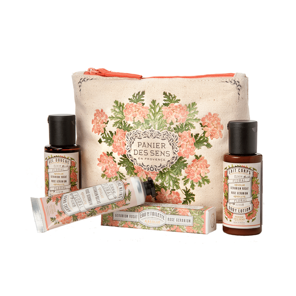 Shop Rose Geranium Travel Gift Set at Rose St Trading Co