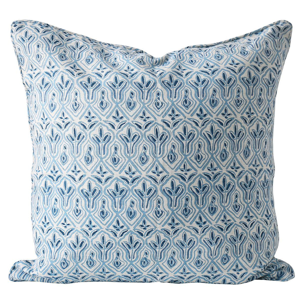 Shop Praiano Riviera Linen Cushion at Rose St Trading Co