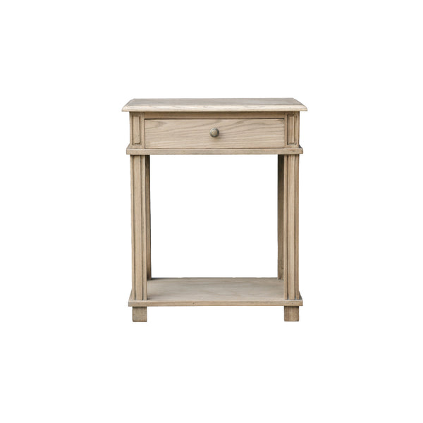 Shop Manto Bedside Table Elm at Rose St Trading Co