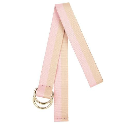 Shop Cotton Belt | Pink + Natural at Rose St Trading Co