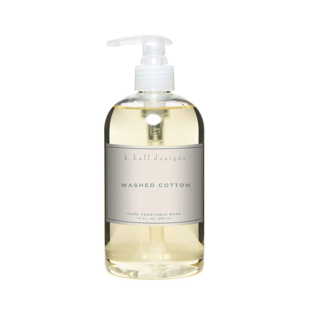 Shop K Hall | Washed Cotton Liquid Hand Soap at Rose St Trading Co
