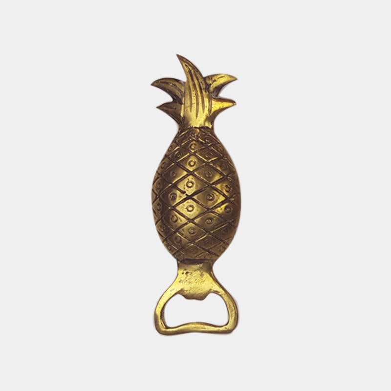 Shop Pineapple Bottle Opener Solid at Rose St Trading Co