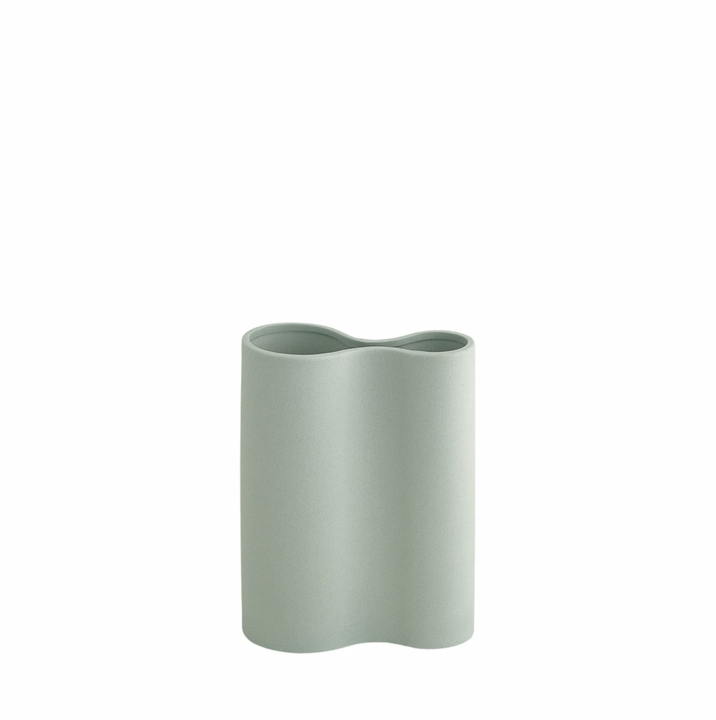 Shop Smooth Infinity Vase Blue (S) at Rose St Trading Co