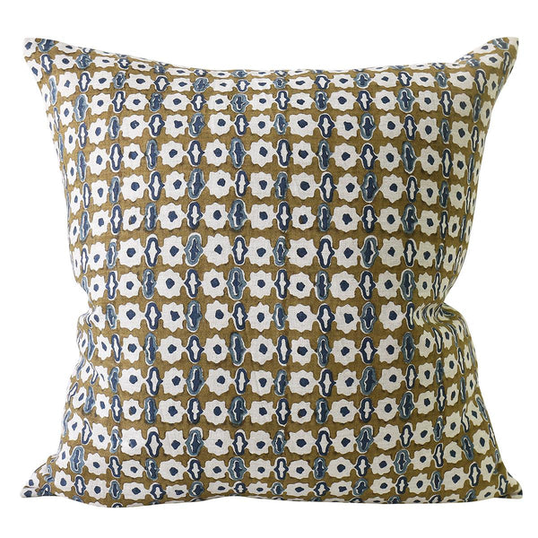 Shop Pahari Tobacco Linen Cushion at Rose St Trading Co
