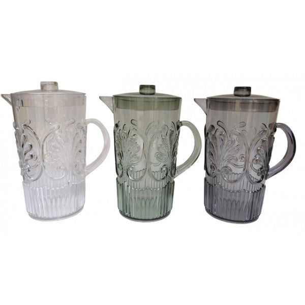 Shop Acrylic Scollop Des Pitcher | Grey at Rose St Trading Co