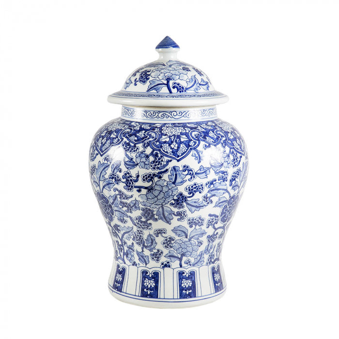 Shop Blue and White Ming Ginger Jar at Rose St Trading Co