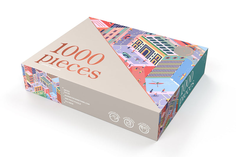 Shop 1000 Piece Puzzle | Upside Downtown at Rose St Trading Co
