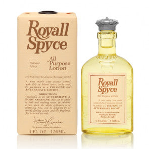 Shop MEN | Royall Lyme | Spyce Natural Spray at Rose St Trading Co
