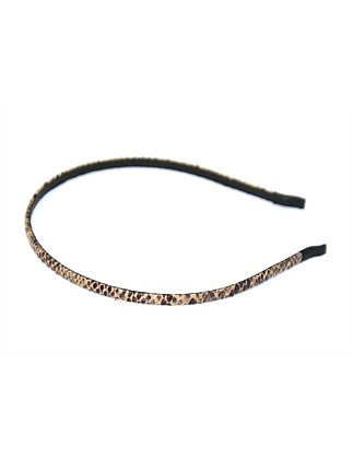 Shop Alice Head Band | Thin Brown Snake at Rose St Trading Co
