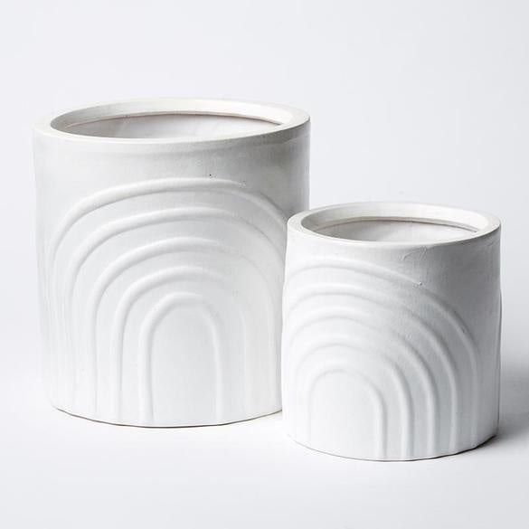Shop Rainbow Pot Set | White at Rose St Trading Co