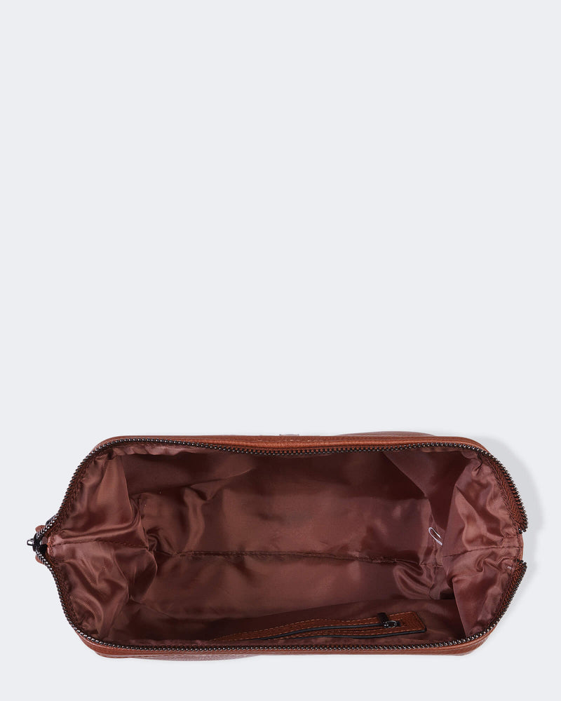 Shop Gilbert Mens Toiletry Bag | Tan at Rose St Trading Co