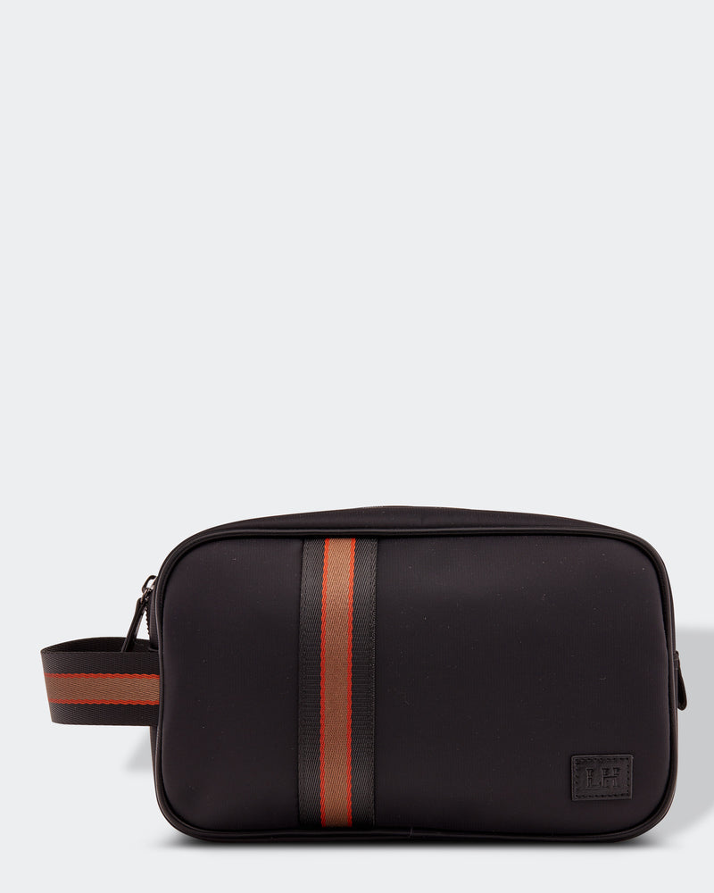 Shop Lucas Mens Toiletry Bag | Black at Rose St Trading Co