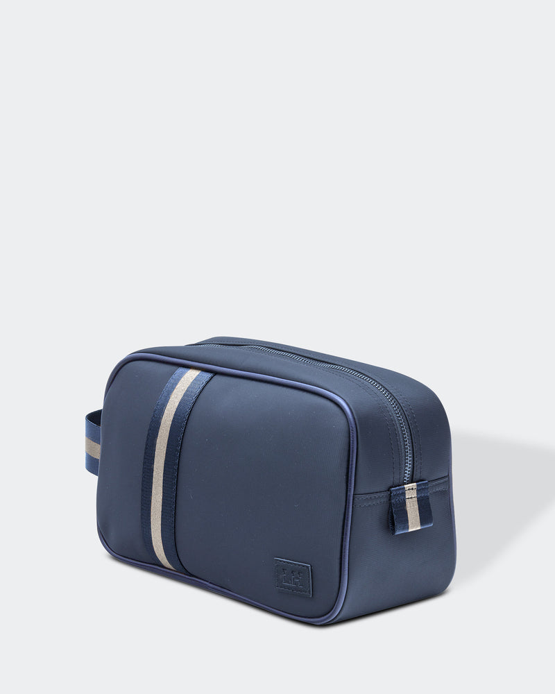 Shop Lucas Mens Toiletry Bag | Navy at Rose St Trading Co
