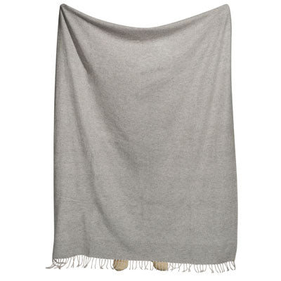 Shop Lambswool Throw- Oatmeal at Rose St Trading Co