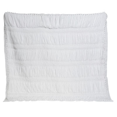 Shop White Embroidered Quilt Set at Rose St Trading Co