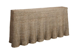 Shop Rattan Console Table at Rose St Trading Co