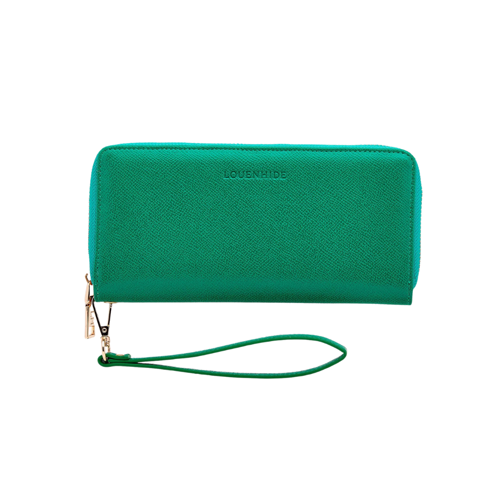 Shop Jessica Wallet | Emerald at Rose St Trading Co