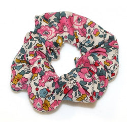 Shop Scrunchie | Liberty Pink + Teal Betsy Ann at Rose St Trading Co