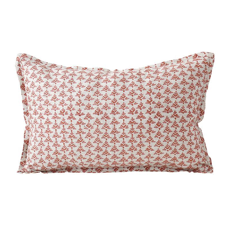 Shop Hampi Guava Linen Cushion at Rose St Trading Co