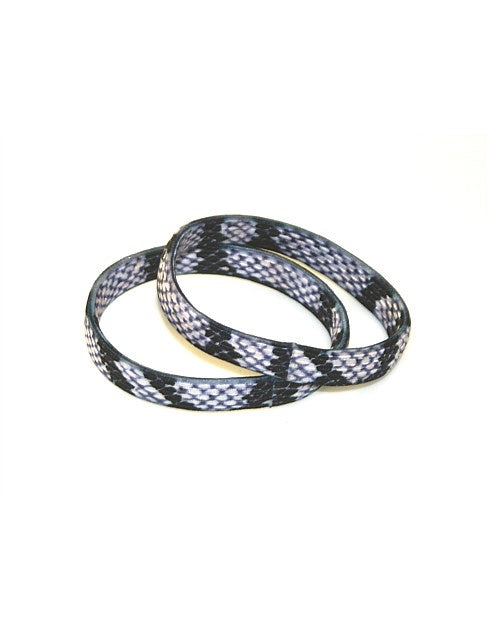 Shop Hair Elastics | Set of 2 Brown Snake at Rose St Trading Co