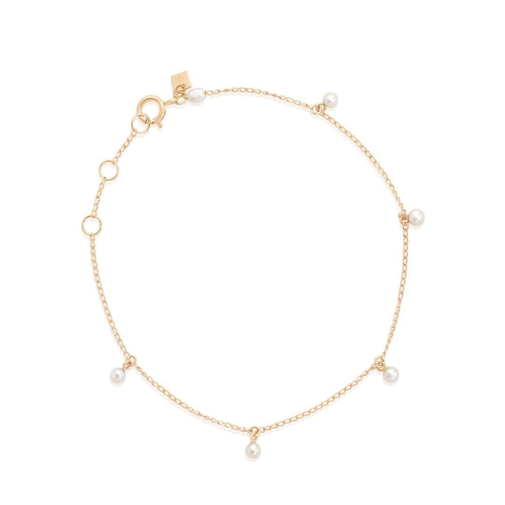 Shop 14k Gold Peace Lover Bracelet at Rose St Trading Co