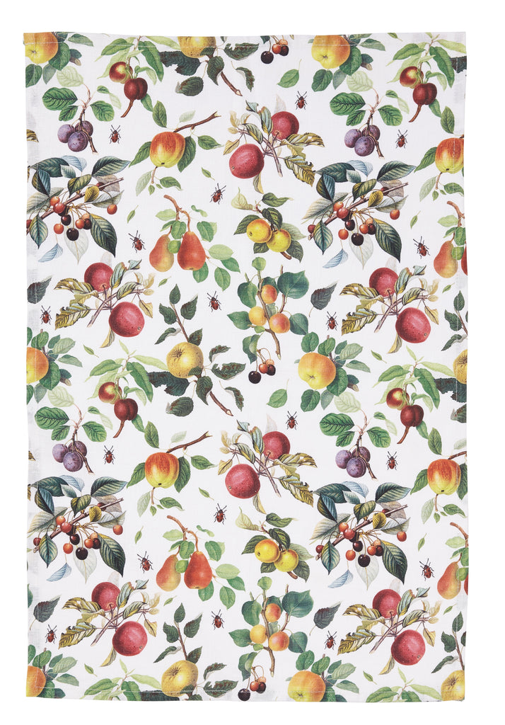 Shop RHS Fruit Linen Tea Towel at Rose St Trading Co