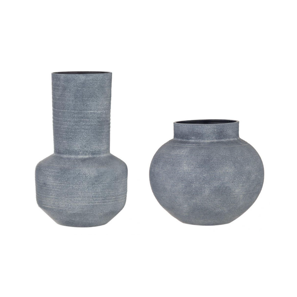Shop Kennan Grey Vase at Rose St Trading Co