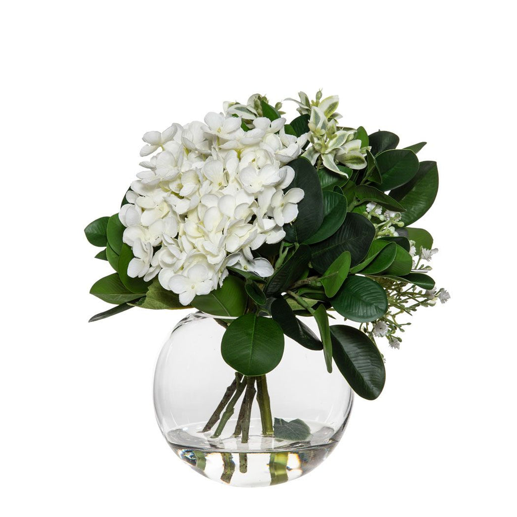 Shop Hydrangea Bundle Sphere Vase at Rose St Trading Co