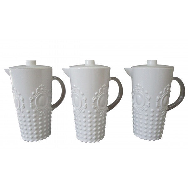 Shop White Opaque Water Jug at Rose St Trading Co