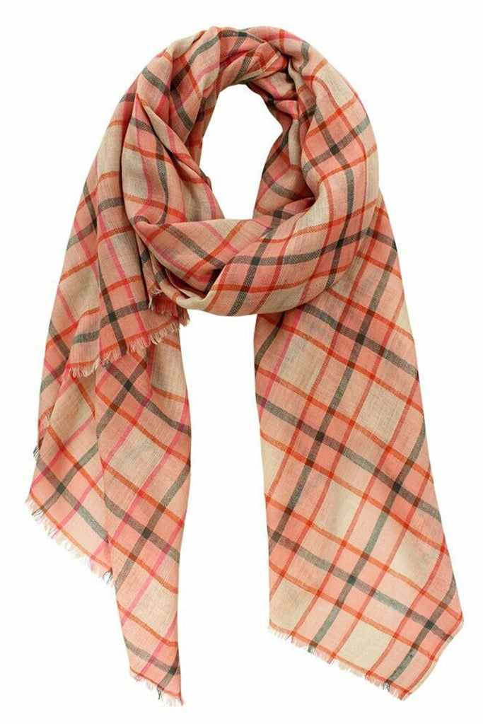 Shop Cumberland Fine Merino Check Scarf at Rose St Trading Co