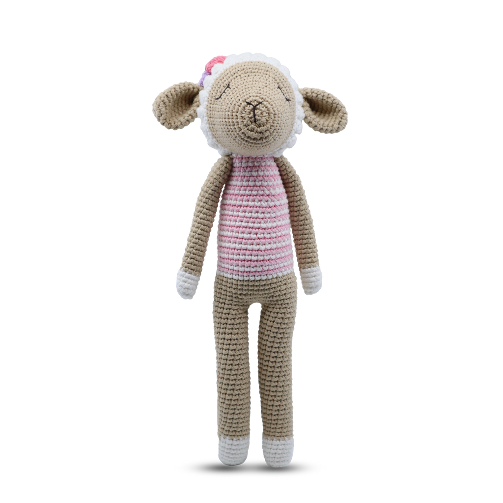 Shop Slim Standing Toy | Lamb at Rose St Trading Co