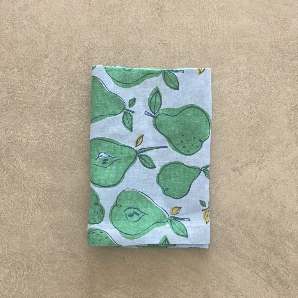 Shop Pear Napkin | Set of 4 at Rose St Trading Co