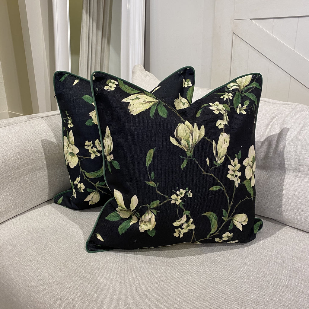Shop Magnolias Cushion at Rose St Trading Co