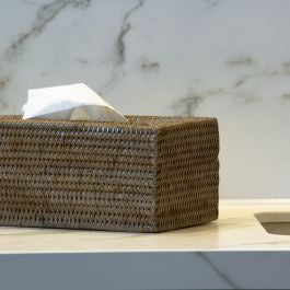 Shop Rectangle Tissue Box Holder | Old Grey at Rose St Trading Co