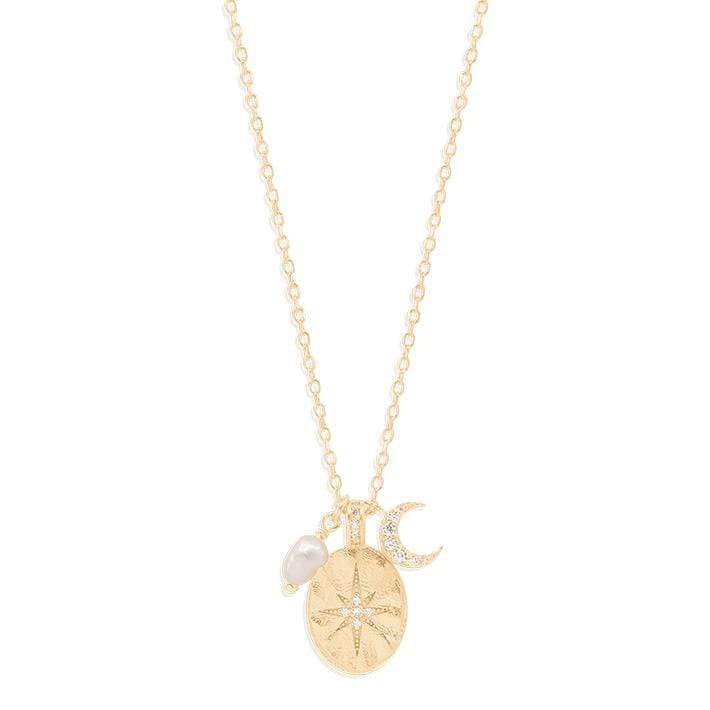 Shop Gold Dream Weaver Necklace at Rose St Trading Co