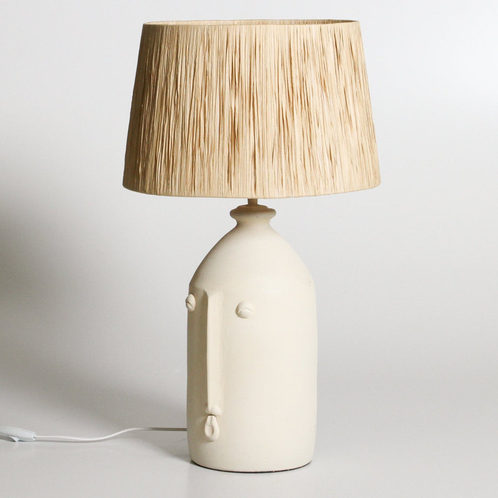 Shop Salvador Table Lamp | Off White at Rose St Trading Co