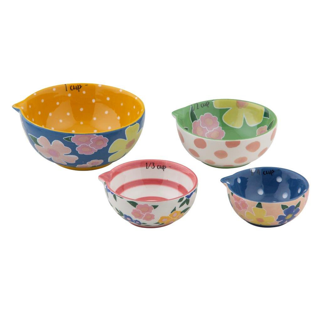 Shop Pattern Clash Measuring Cups | Multi at Rose St Trading Co