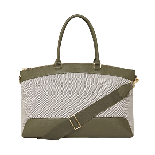 Shop Bronte Overnight Bag - Khaki at Rose St Trading Co
