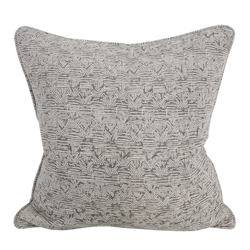 Shop Bhujodi Mud Linen Cushion | 50x50cm at Rose St Trading Co