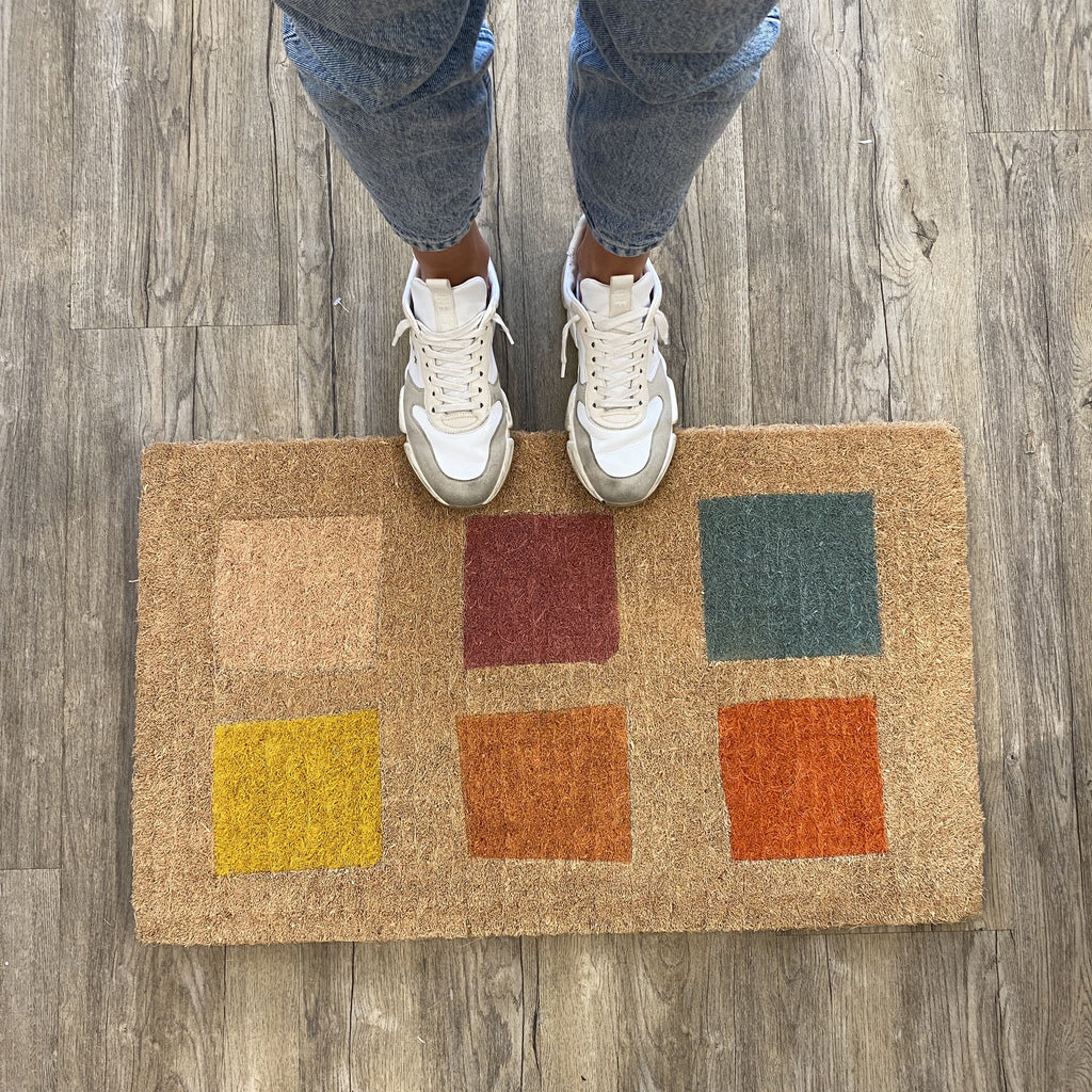 Shop Doormat - Square Grid at Rose St Trading Co