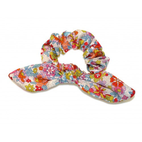 Shop Tie Bow Scrunchie | Liberty Floral Waltz at Rose St Trading Co