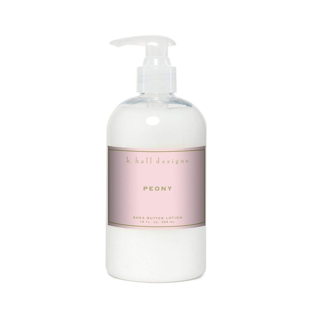 Shop K Hall | Peony Shea Butter Lotion at Rose St Trading Co