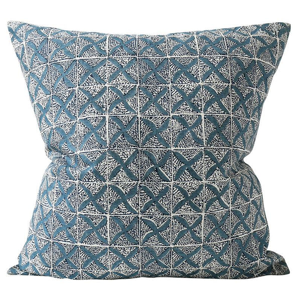 Shop Sedona Denim Linen Cushion at Rose St Trading Co