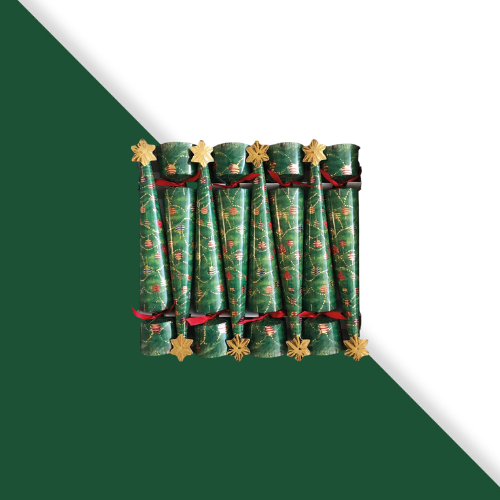 Shop Christmas Boxed Crackers | Christmas Tree at Rose St Trading Co