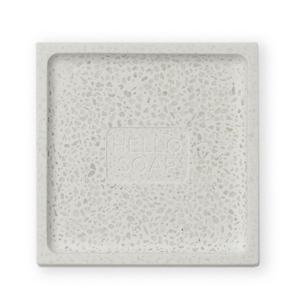 Shop Hello Soap Dish - Grey at Rose St Trading Co