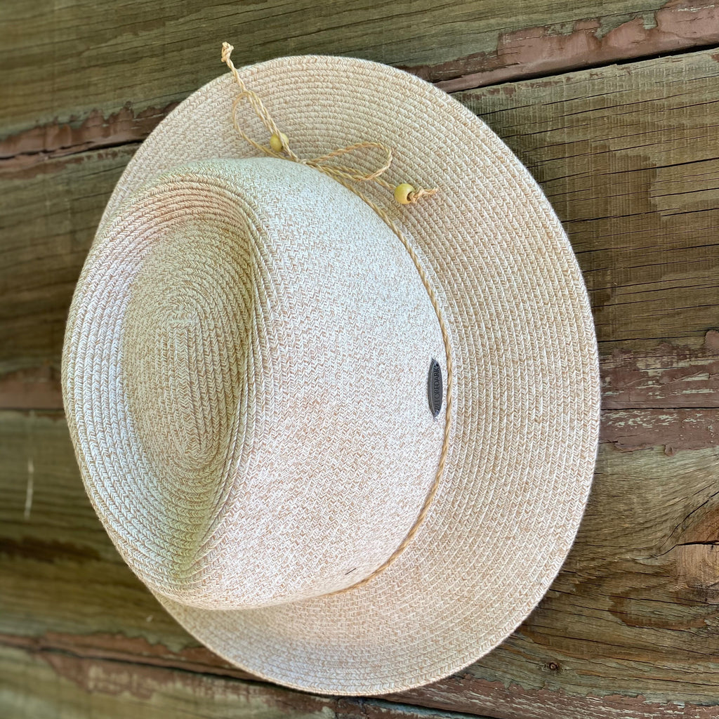 Shop Flexibraid Avoca Fedora | Oatmeal at Rose St Trading Co