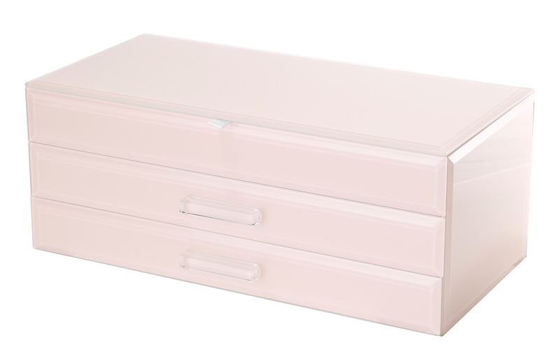 Shop Jewellery Box - Blush Glass Large at Rose St Trading Co