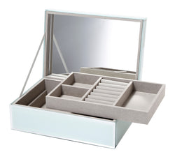 Shop Jewellery Box -Mint Glass at Rose St Trading Co