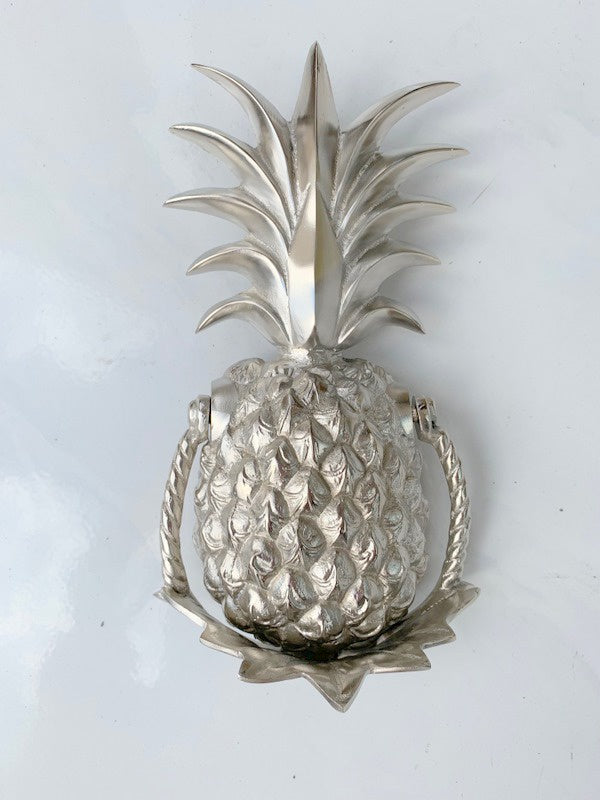 Shop Pineapple Silver Doorknocker at Rose St Trading Co