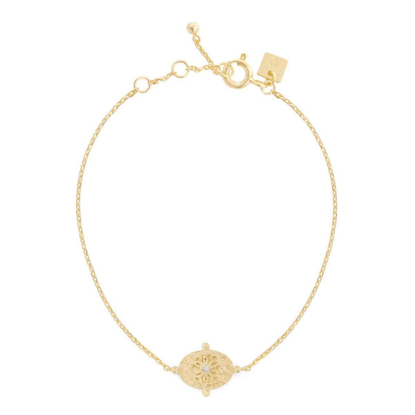 Shop Gold Path of Life Bracelet at Rose St Trading Co